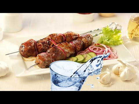 Шашлык из свинины на минералке. Быстрый маринад для шашлыка из свинины