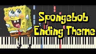 Spongebob Ending Theme (Synthesia Piano Cover)