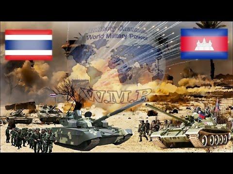 Thailand VS Cambodia Military Power Comparison 2016 - 2017
