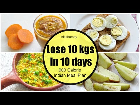 How To Lose Weight Fast 10 kg in 10 Days  – Full Day Indian Diet