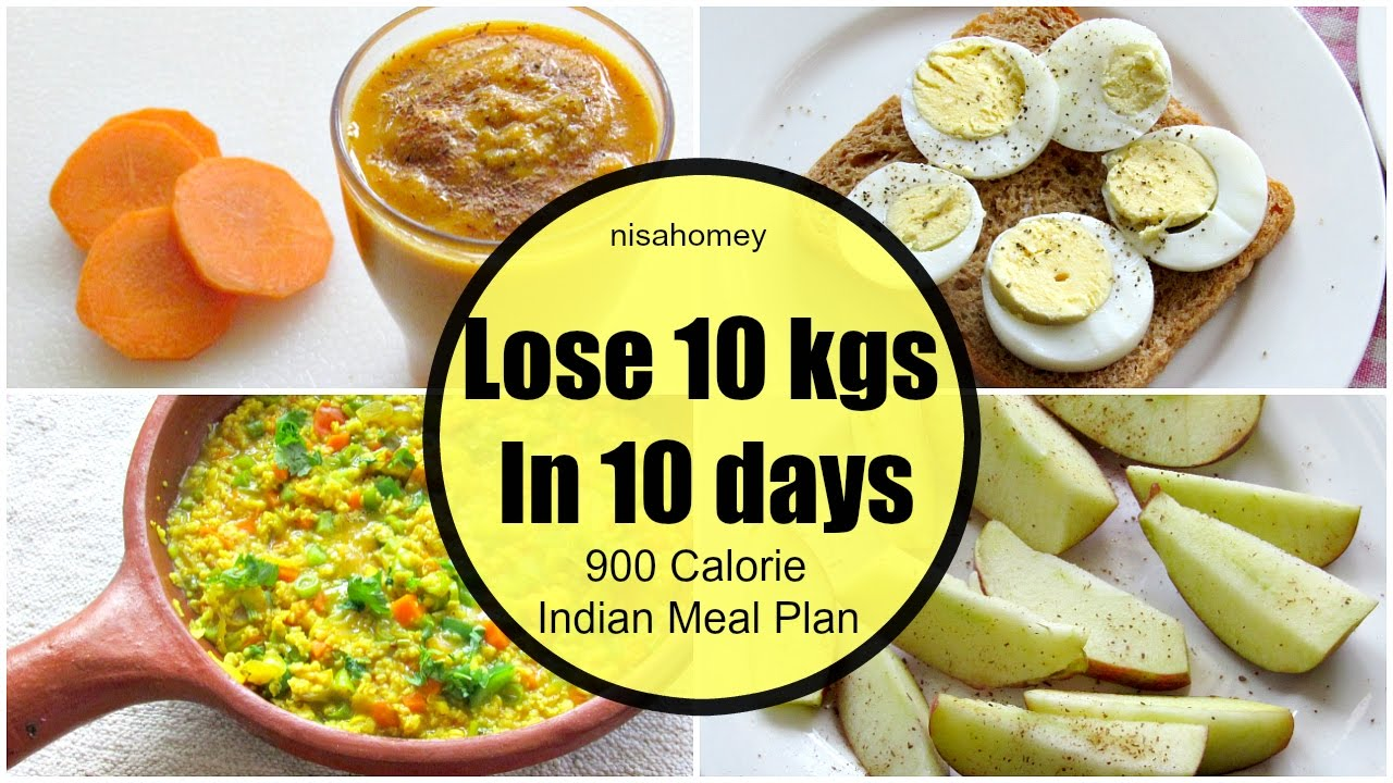 How To Lose Weight Fast 10 kgs in 10 Days - Full Day ...