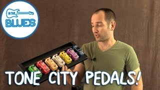 Tone City Overdrive Pedals Stacked Comparsion