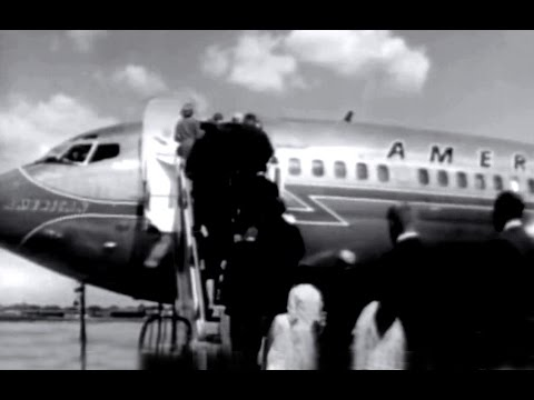 Lambert Field Municipal Airport Promo Film - 1962