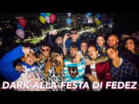 LE STORIES DELLA DARK POLO GANG ALLA FESTA DI FEDEZ