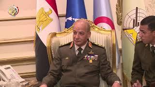 الفريق أول محمد زكى يلتقى وزير الأمن الداخلى الأمريكى