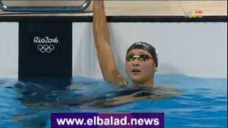 مصر ريو دي جانيرو 2016.. فريدة تودع 100متر سباحة بالمركز 12.. 'فيديو'