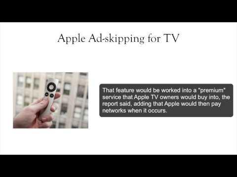 Apple TV Ad-Skipping Technology - INSIGHT