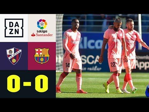 Barca mit Nullnummer beim Schlusslicht: SD Huesca - FC Barcelona 0:0   La Liga   Highlights   DAZN