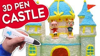 3D Pen - Making a Castle