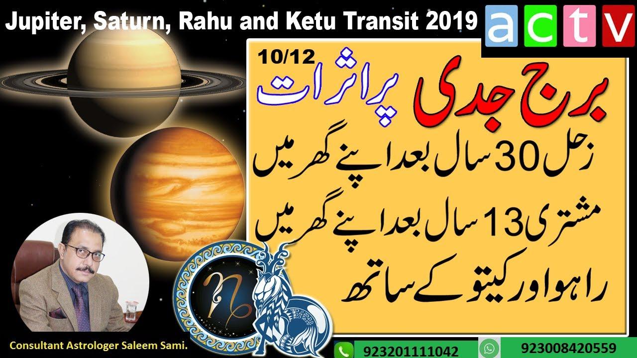 Jupiter, Saturn, Rahu & Ketu Transit 2019 - 2020 | Capricorn |Vedic  Astrology| Saleem Sami Astrology