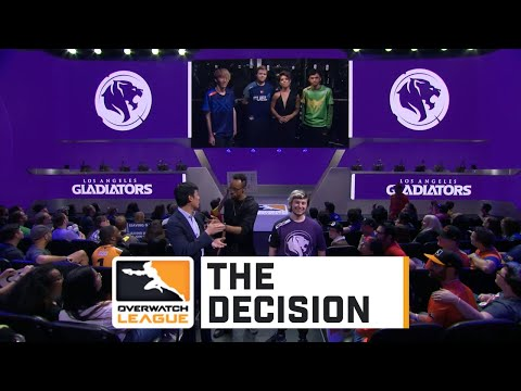 The Decision - Los Angeles Gladiators pick opponent for Stage Four playoffs | Overwatch League