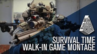 Survival Time | Black_Arc Airsoft | Walk-in Gameplay at Code Red AIrsoft Field