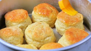 Download HOW TO MAKE FLUFFY BISCUITS | biscuit mixing method