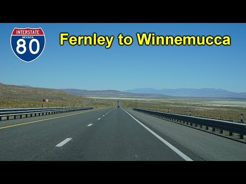 2K16 (EP 7) Interstate 80 from Fernley to Winnemucca, Nevada