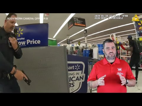 California Officers Respond To Shoplifter With A Bat In Walmart