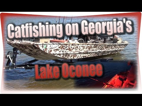 Catfishing On Georgia's Lake Oconee