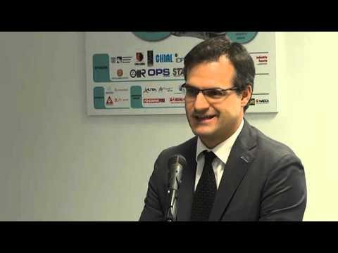 Saluti Istituzionali di Gabriele Ceselin, Direttore di CSMT Gestione Scarl