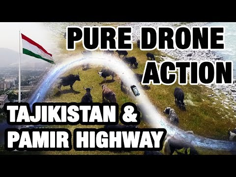 TDNN Travel - PURE DRONE ACTION PAMIR HIGHWAY & DUSHANBE
