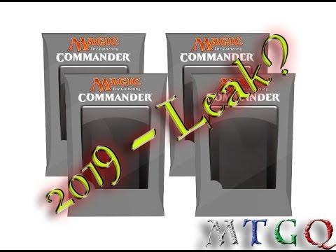 Commander 2019 Leaks