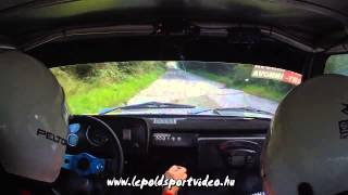 lepoldsportvideo.hu:Kálmánczi-Schmidt Lada 2105 Forrás Rallyesprint 2014.SS3.