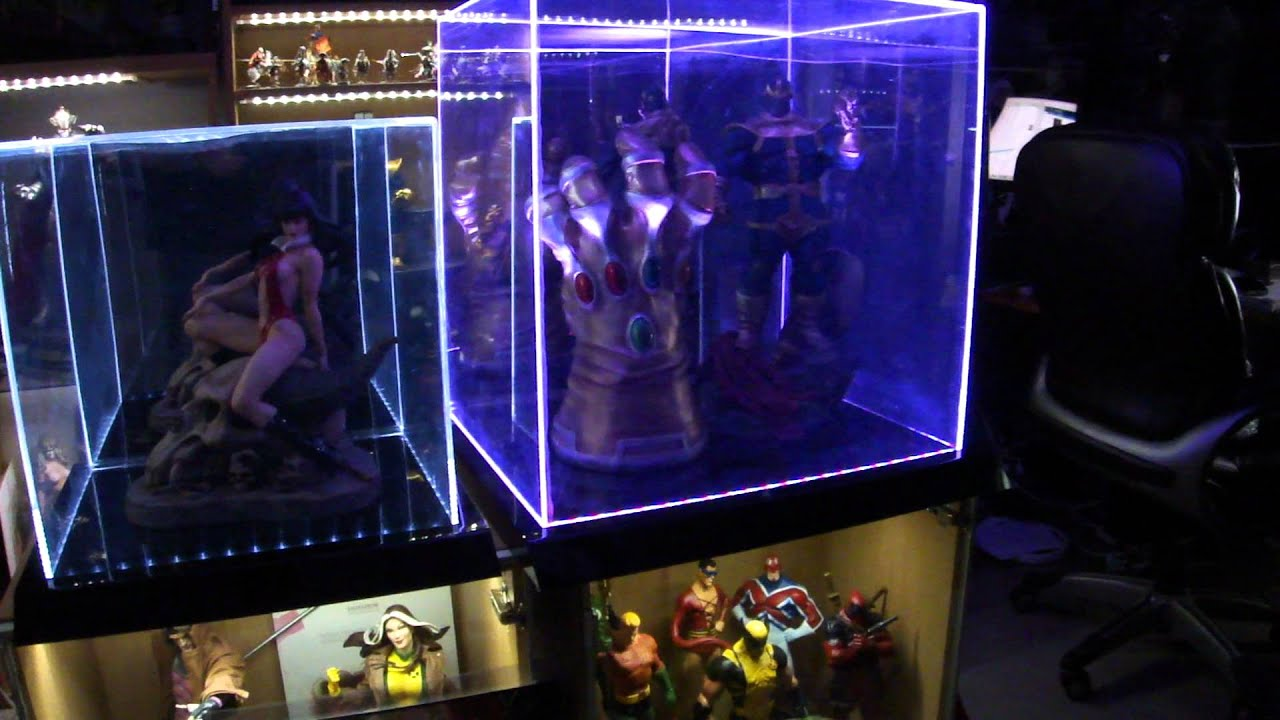 Lighted Display Cases
