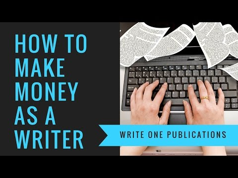 Earn Money Writing - Get Paid To Write Books!