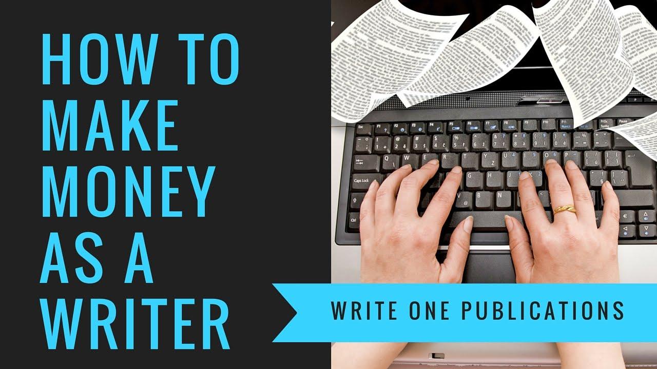 Earn Money Writing - Get Paid To Write Books!