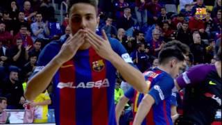 [HIGHLIGHTS] FUTSAL (LNFS): FC Barcelona Lass...