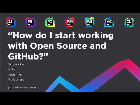 How do I start working with Open Source and GitHub?