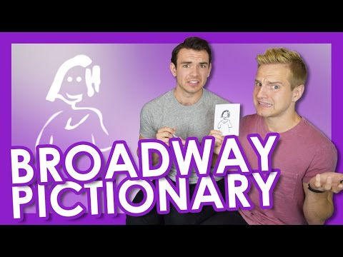 Broadway Pictionary with Max Clayton | TYLER MOUNT
