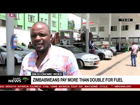 Zimbabweans react to the fuel price hike