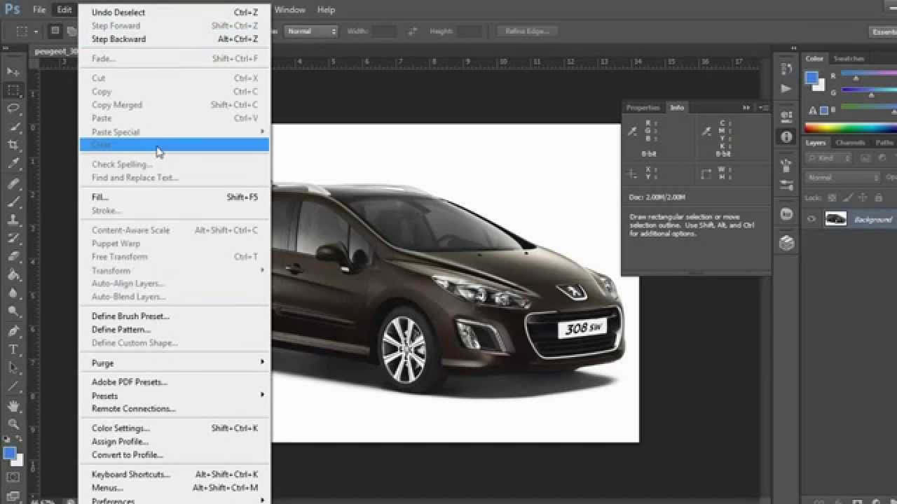 How to change units inches to pixelsin photoshop cs6 youtube how to change units inches to pixelsin photoshop cs6 nvjuhfo Gallery