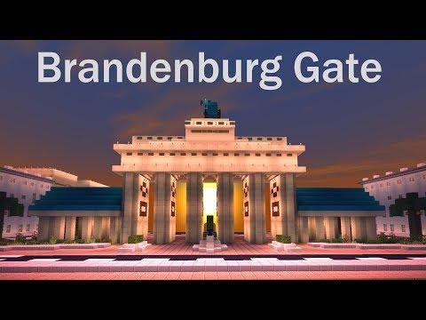 Minecraft Brandenburg Gate Cinematic