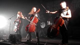 Apocalyptica Shadowmaker Tour 2015 Live Madrid (HOUSE OF CHAINS)