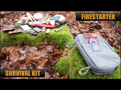 Fire Starter Survival Kit -- Best Fire Starter Gear? | Camping, Outdoor, Survival, Tactical & EDC