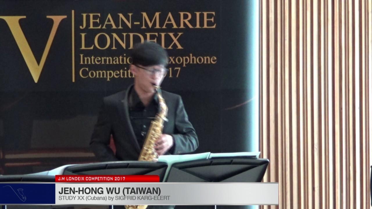 Londeix 2017 - Jen-Hong Wu (Taiwan) - X Cubana by Sigfrid Karg Elert