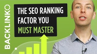 The SEO ranking factor you MUST master to rank in Google