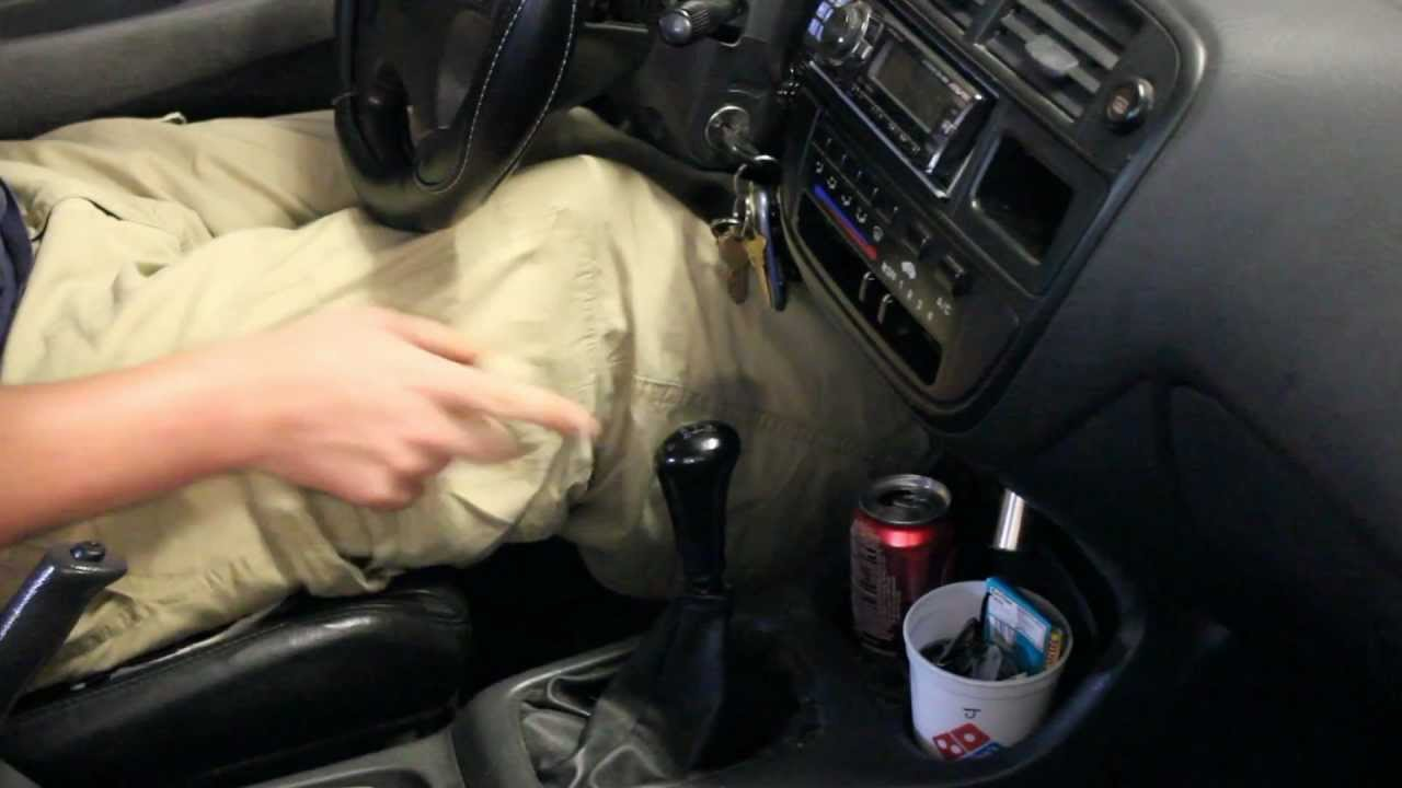 how to fix your loose stick  manual shift stick
