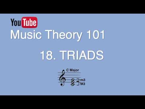 18. Triads, Chord Symbols, Arpeggiation, Doubling (Music Theory 101)