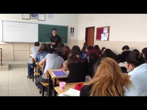 Teaching English in a high school in Turkey 2