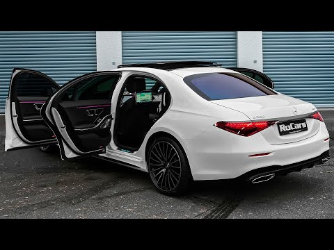 2021 Mercedes S-Class S500 - Gorgeous Luxury Sedan in detail