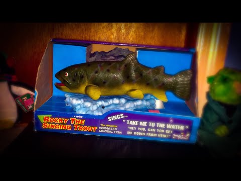 EXTREMELY RARE SINGING FISH FOR SALE! (CHEAP)