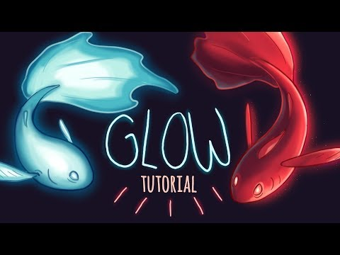 Glow Tutorial // Lighting & Glow Effects for Beginner Digital Artists