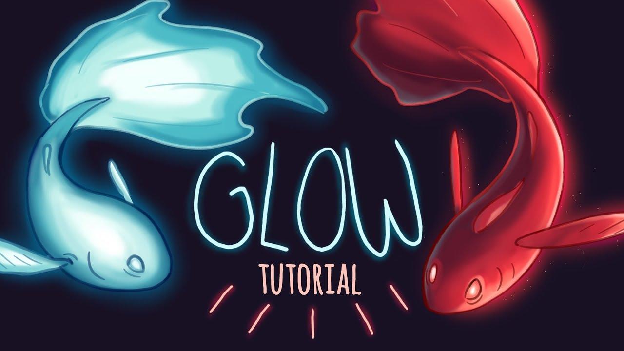 Glow Tutorial // Lighting & Glow Effects for Beginner Digital Artists #1