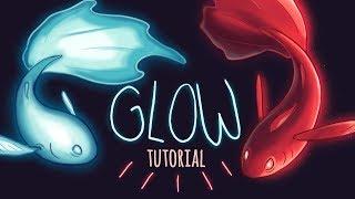 Glow Tutorial // Lighting & Glow Effects for Beginner Digital Artists