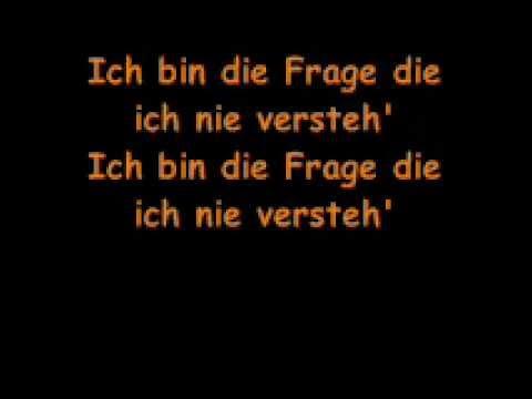 Ich Bin Mein Haus - Rosenstolz (lyrics)