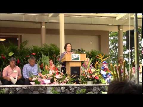 Mazie Hirono at PBARC July 2 2014