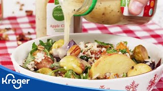 How to Make Winter Vegetable Salad  Holiday Creations  Kroger