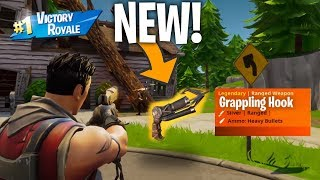 *NEW* GRAPPLING HOOK IN FORTNITE?! (COMING SOON)
