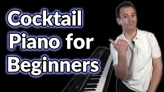 Beginners, here's how t๐ play Cocktail Piano